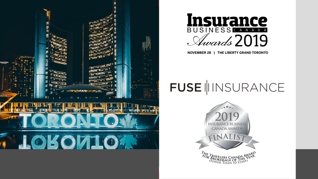 Fuse Insurance is Headed to the Insurance Business Canada Awards